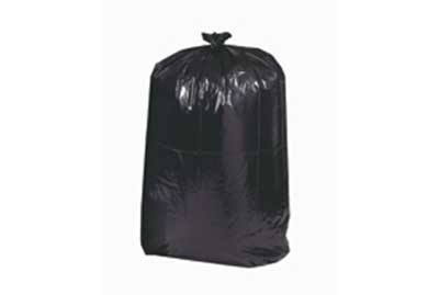 33 Gallon Trash bag 1.5 mil Blk